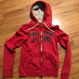 Abercrombie and Fitch Zip up hoodie M Medium